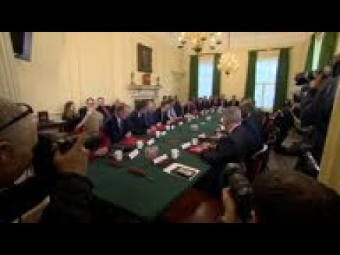 UK PM's First Cabinet Meeting Since Reshuffle