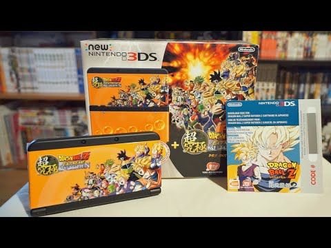 UNBOXING | NEW NINTENDO 3DS - DRAGON BALL Z: EXTREME BUTODEN [BUNDLE]