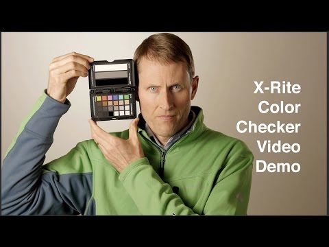 Why Use a Color Chart? X-Rite Color Checker Passport Video Demo
