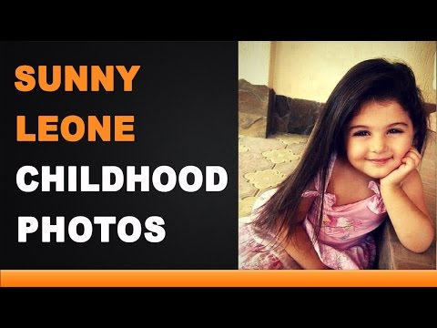 Sunny Leone Childhood Photos