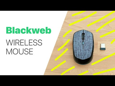 Blackweb Wireless Fabric Mouse Review
