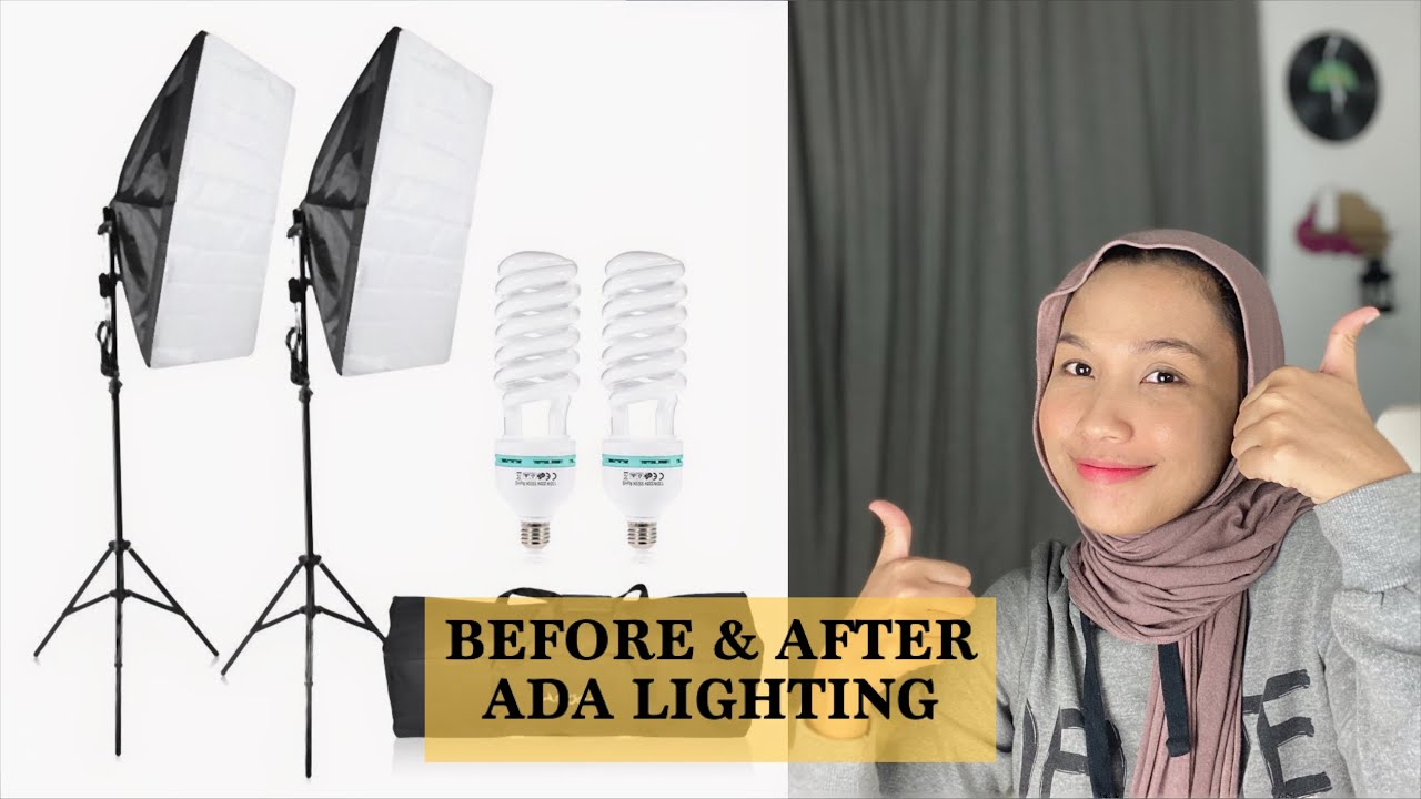THIS IS WHAT YOUTUBER NEED!! Unboxing soft box lighting 😍🔥