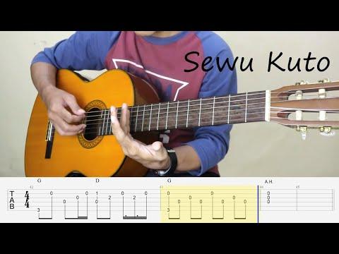 sewu-kuto---didi-kempot---fingesrtyle-guitar-tutorial-tab-versi-dangdut