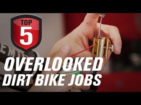Top 5 Overlooked Dirt Bike Maintenance Jobs