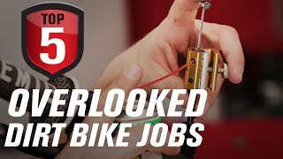 Top 5 Overlooked Dirt Bike Maintenance Jobs