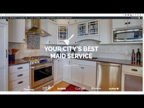 How To Build A WordPress Cleaning Website