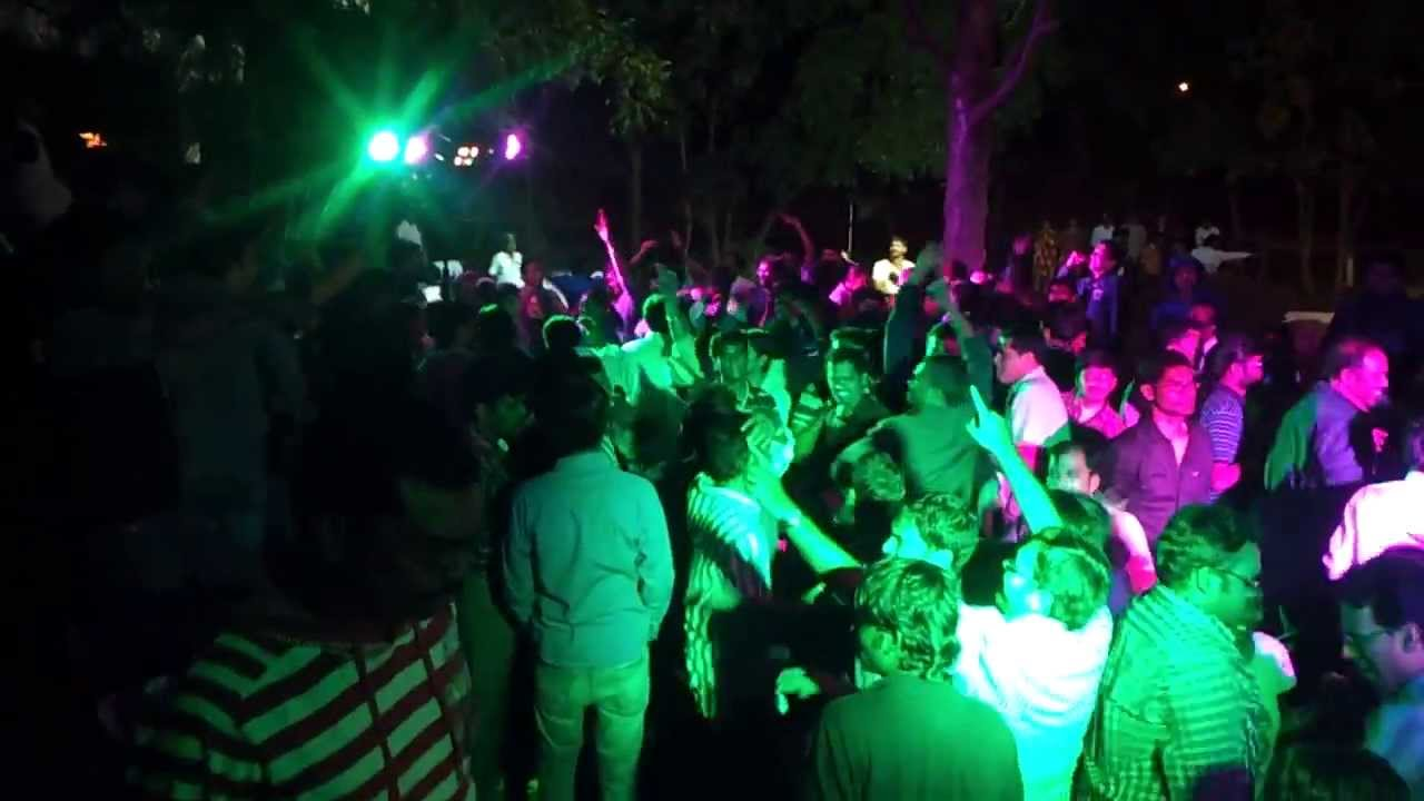 Tech Mahindra Bahadurpally Campus Dj Nite 3 Youtube