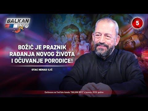 INTERVJU: Otac Nenad Ilić - Božić je praznik rađanja novog života i očuvanja porodice! (7.1.2019)