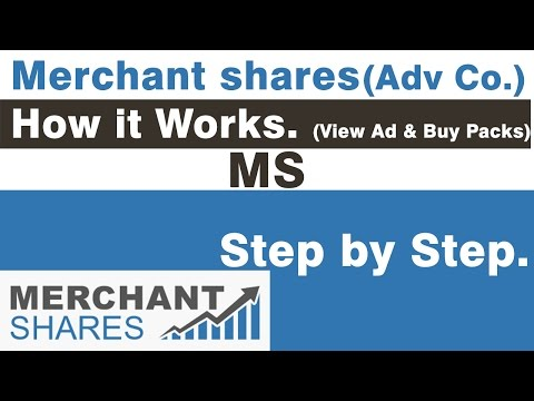 Merchant share- How to Buy Packs and View Ads.(How it Works)