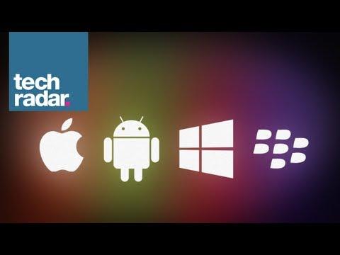 iOS 7 vs Android Jelly Bean vs Windows Phone 8 vs BB10