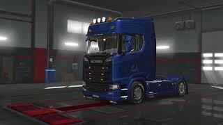 Vehicle http://sharemods.com/v1yphqduj6dn/scania_s_series.scs.html  Addons http://sharemods.com/hk42skkv2nb8/addons.7z.html