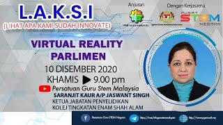 LAKSI : Virtual reality parlimen