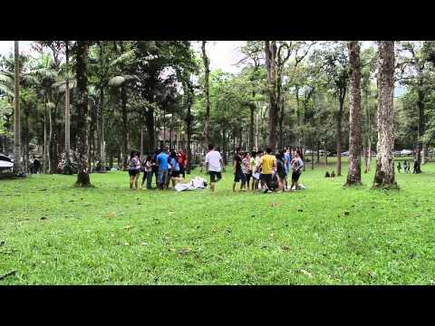 Game diKebun Raya Bali