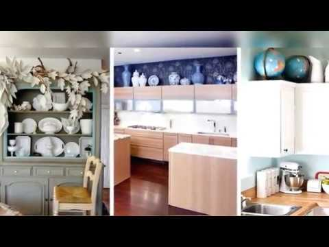 Decorating Ideas For The Top Of Kitchen Cabinets Pictures Lighting