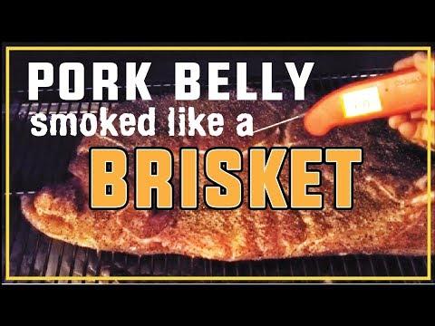 Pork Belly Smoked Like Texas Brisket Butcher Paper How-To BBQ Champion Harry Soo SlapYoDaddyBBQ.com
