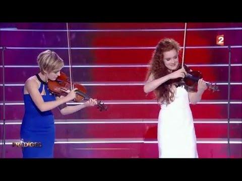 """Résultat de recherche d'images pour """"Camille Berthollet et sa soeur Julie interprètent « Caprice n°24 » de Paganini - Prodiges 3"""""""