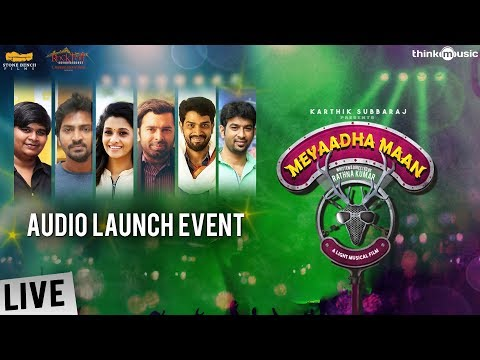 Meyaadha Maan Audio Launch Event !! | Vaibhav, Priya | Pradeep Kumar | Santhosh Narayanan