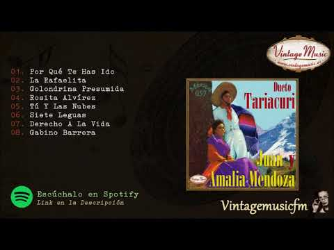 Dueto Tariacuri. Amalia y Juan Mendoza, Colección Mexico #57 (Full Album/Album Completo)