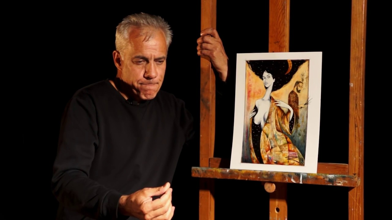#ARTISTandMODEL - Kirill GORODETSKIY / Dezhenin gallery