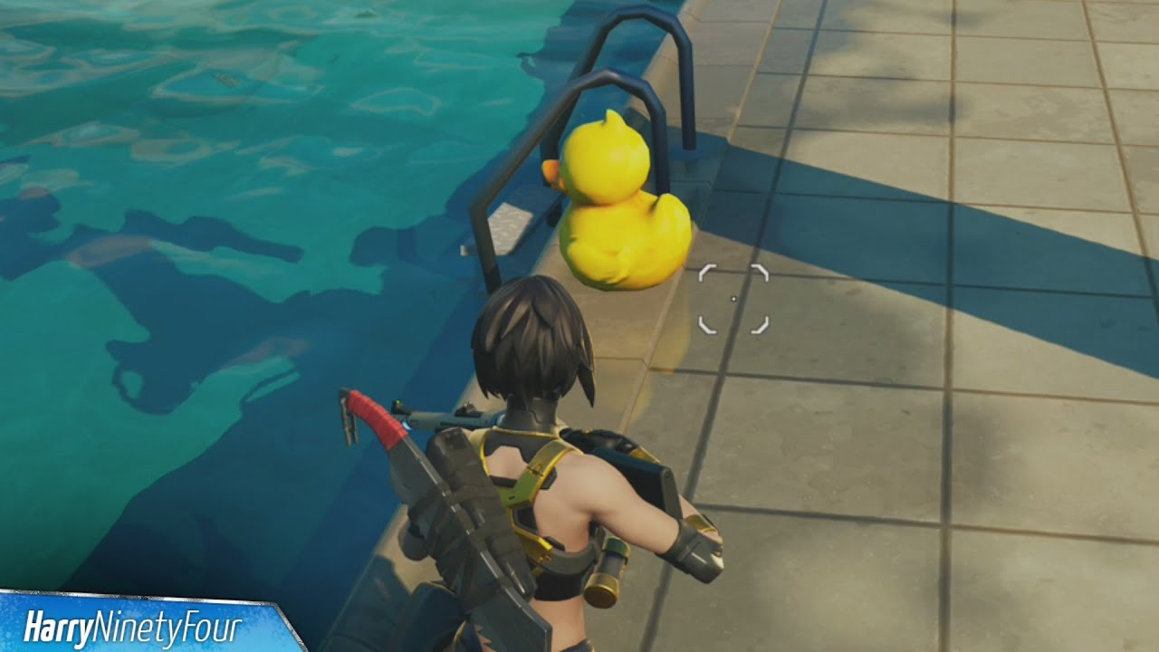 Place Rubber Ducks in Retail Row, Pleasant Park and Believer Beach All Locations - Fortnite