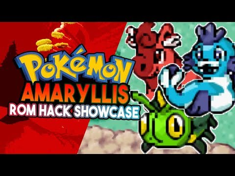 Pokemon Amaryllis Rom Hack Showcase - Awesome FAKEMON! Pokemon Fan Game