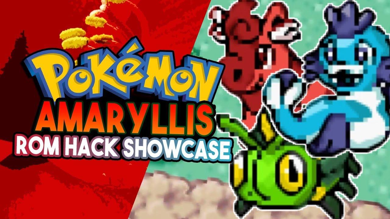 Pokemon Amaryllis Rom Hack Showcase Awesome Fakemon Pokemon Fan Game Youtube