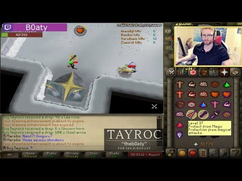 B0aty Finally Gets It! BEST RUNESCAPE TWITCH MOMENTS COMPILATION #142