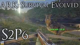 "Ark Survival Evolved Gameplay - S2p6 ""my Guard Dogs"" (early Access)"
