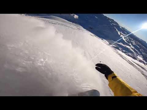Dachstein Krippenstein Freeride Snowboarding 2020 [GoPro]
