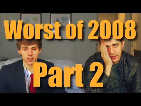 The Top 10 Worst Hit Songs of 2008 (ft. TheDoubleAgent) - Part 2