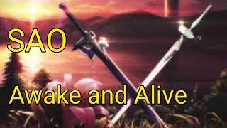 Download Lagu (Awake and alive) Amv on Sword art online mp3
