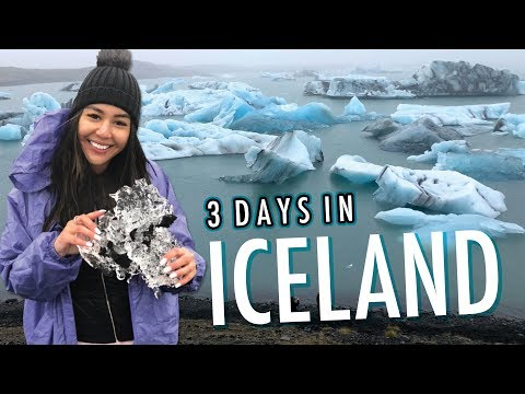 ICELAND VLOG | Blue Lagoon, Icebergs + Golden Circle!