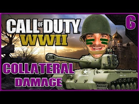 🇿🇦 CALL OF DUTY WORLD WAR II - COLLATERAL DAMAGE - ALL HEROI