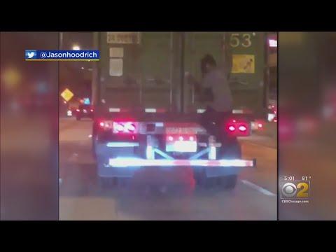 Corey Calhoun - Guy Keeps Catching Rides On Moving Vehicles