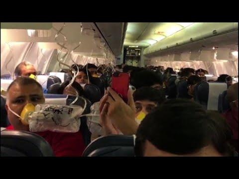 Problema de pressurização provoca pânico em voo na Índia