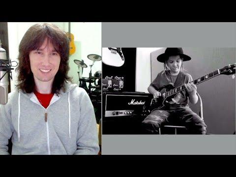 British guitarist reacts to child SENSATION Taj Farrant. OBJECTIVELY!