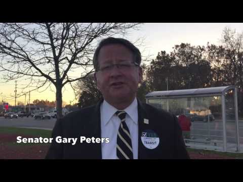 Gary Peters: Vote YES for Regional Transit