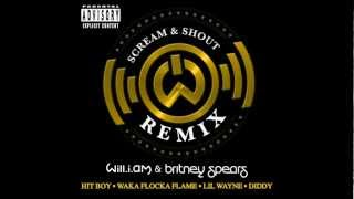 Baixar - Will I Am Britney Spears Scream And Shout Remix Ft Lil Wayne Diddy Waka Flocka Flame And Hit Boy Grátis