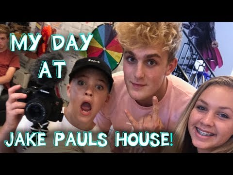 My Day at Jake Paul's House! thumbnail
