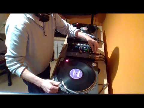 Al Mac Hard techno/Acid techno studio vinyl mix 08/06/18