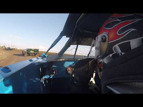 Madras speedway - Hunter Johnson Heat race 6/1/19