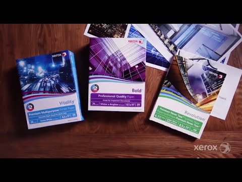 Xerox® Paper and Specialty Media Products (Extended Version)