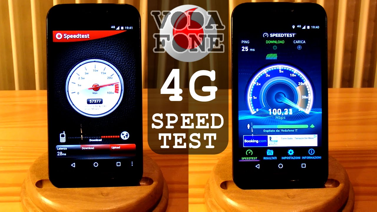 Vodafone 4G LTE SPEED TEST - Download Upload Ping
