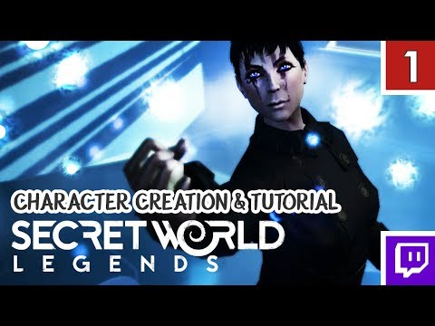 SECRET WORLD LEGENDS! Trickster/Illuminati – Character Creation & Tutorial [Gameplay 1]