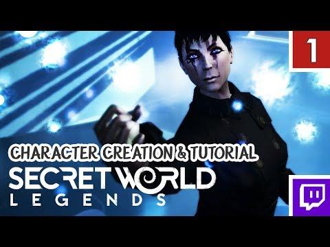 SECRET WORLD LEGENDS! Trickster/Illuminati – Character Creation & Tutorial [Gameplay 1]