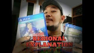Penjelasan PlayStation 4 Regional 1, 2 dan 3