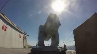 USS Detroit (LCS 7) RAM firing footage
