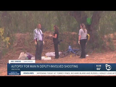 Man fatally shot by deputies in Encinitas identified