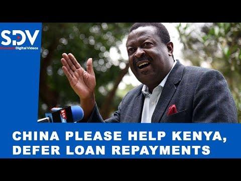China! Please help Kenya by waiving your loan interests and deferring loan repayments amid coronavir