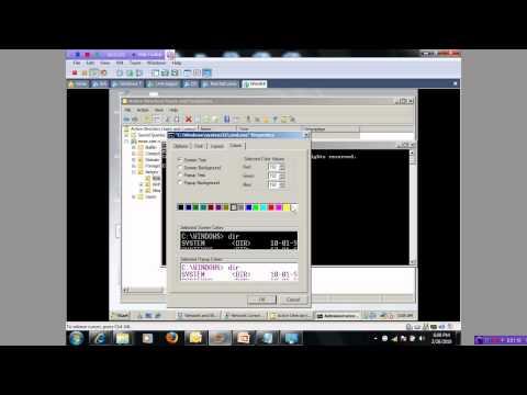 [Bài giảng MCITP-SA]-Bài 2: Script Creating Group.wmv
